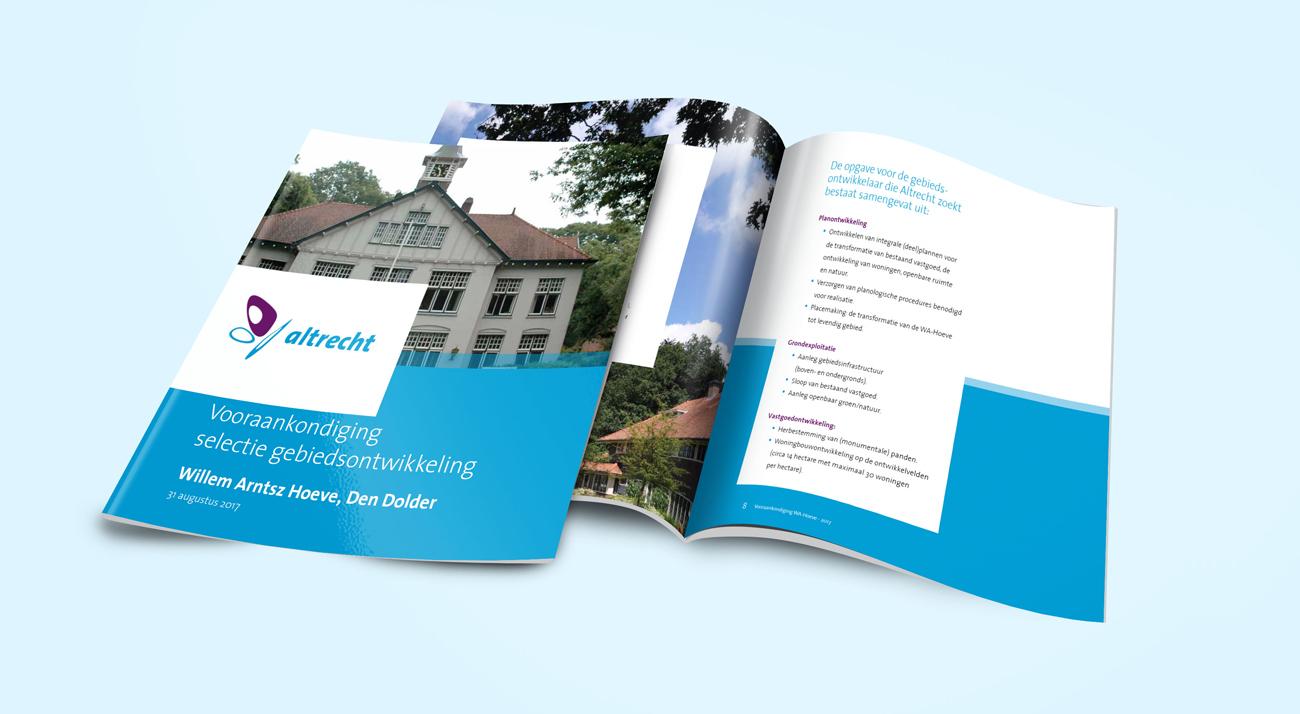 Publicatie flyer Altrecht Specialist in Zorg