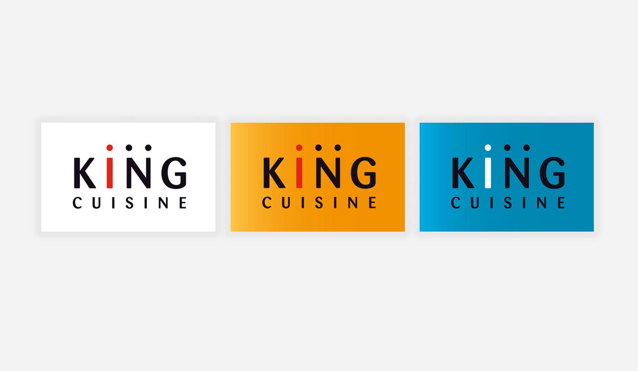 King Cuisine Huisstijl