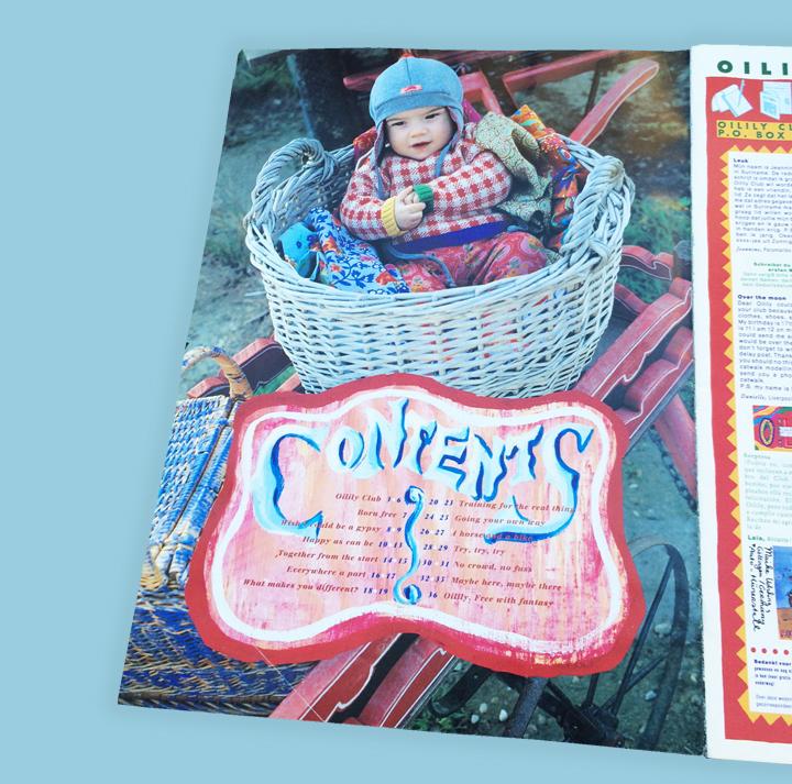 Oilily magazine